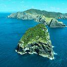 Cape Brett and Piercy Island, Bay of Islands, New Zealand.....! (2) by Roy  Massicks