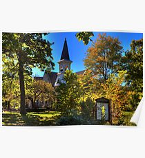 Beauty Surrounds God's House Poster