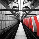 LA subway by Vin  Zzep