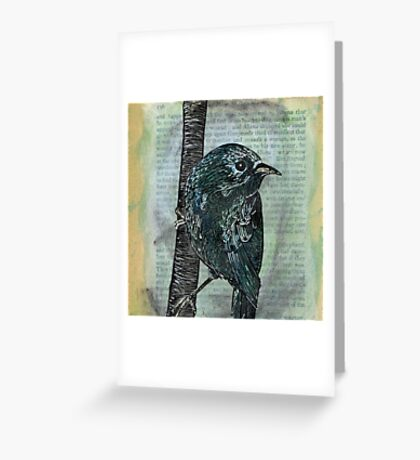 Shakespeare's Birds - July Greeting Card