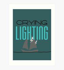 Lighting Art Print