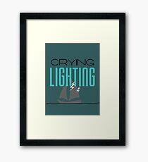 Lighting Framed Print