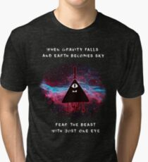 When Gravity Falls Tri-blend T-Shirt
