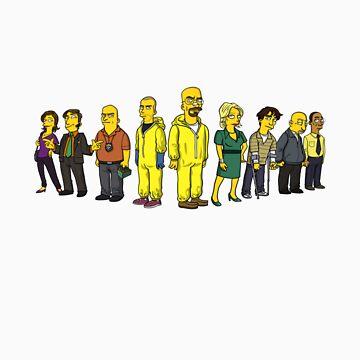 Breaking Bad by Simpsonized