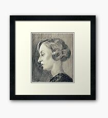 Lady Edith Crawley of Downton Abbey Framed Print