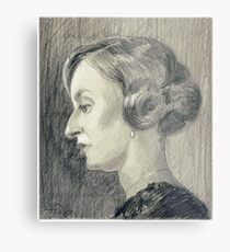 Lady Edith Crawley of Downton Abbey Metal Print