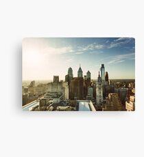 Philadelphia Skyline, October 2013 Leinwanddruck