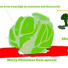 Sprouts Christmas Card #2 by LowHumour