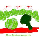 Sprouts Christmas Card #4 by LowHumour