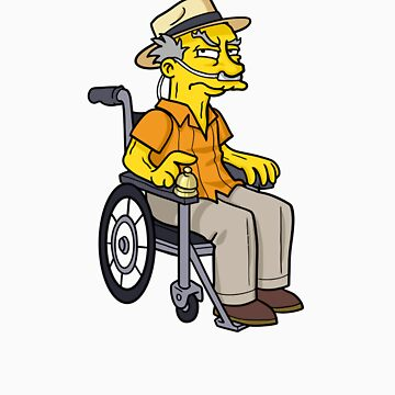 Hector Salamanca - Breaking Bad by Simpsonized