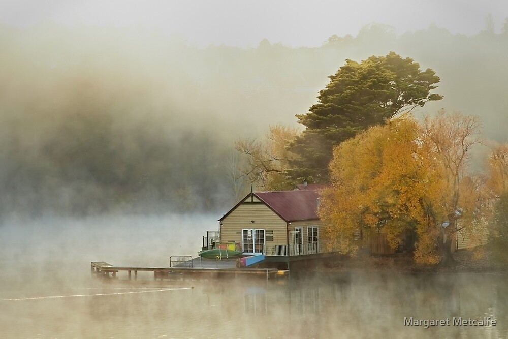 The Daylesford Lake House  by Margaret Metcalfe