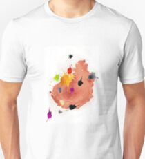 Abstract watercolor blots Unisex T-Shirt