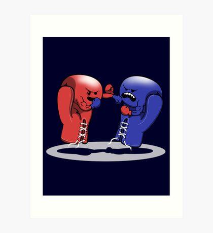 Boxing!! Art Print