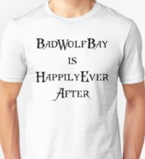 Dr. Who: Bad Wolf Bay T-Shirt