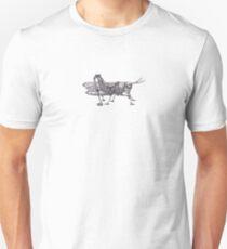 Steampunk Grasshopper Unisex T-Shirt