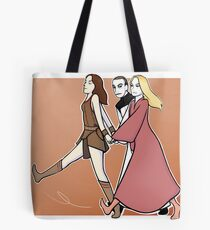 Gallifrey: we are a team! ORANGE PRINT Tote Bag
