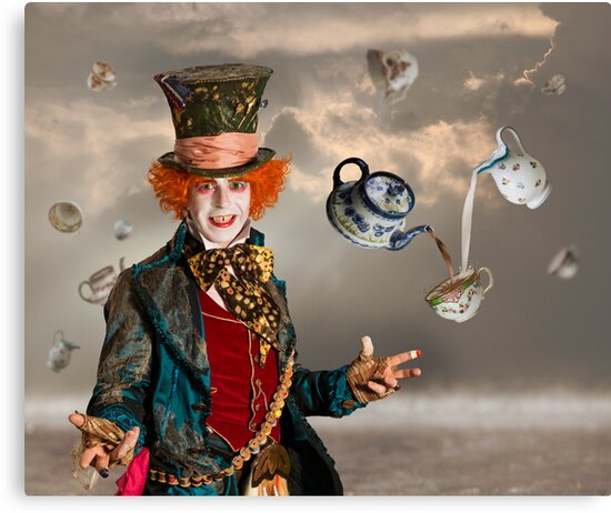 Mad Hatters Tea Party by Patricia Jacobs DPAGB LRPS BPE4