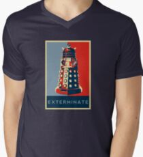 Exterminate Men's V-Neck T-Shirt