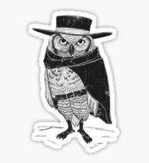 A Fistful of Feathers Sticker