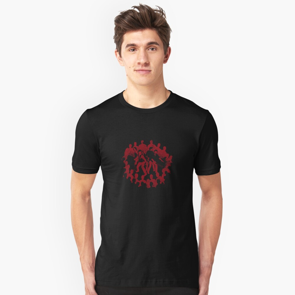 Surrounded by Death Slim Fit T-Shirt