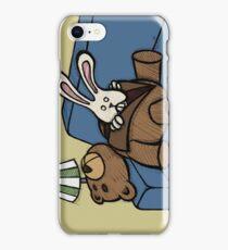 Teddy Bear And Bunny - Inner Soul iPhone Case/Skin