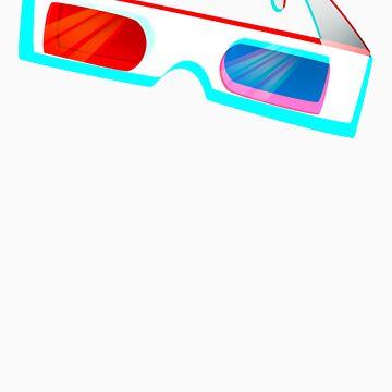 3D 3D-Glasses by Smachajewski