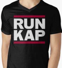 "San Francisco 49ers ""RUN KAP"" Design!  Mens V-Neck T-Shirt"