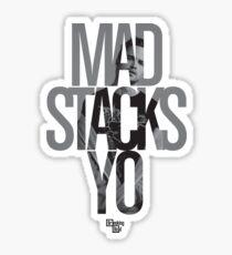 Mad Stacks Yo Sticker