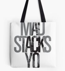 Mad Stacks Yo Tote Bag