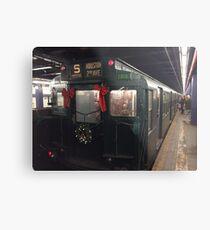 Lámina metálica Tren de metro de la vendimia de la década de 1930, New York Transit Museum Nostalgia Trip, la ciudad de Nueva York