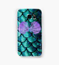 Mermaid Scales & Shell Bra Samsung Galaxy Case/Skin