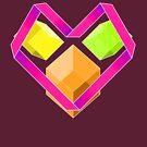 Love Cubes Pink by milkymilkface