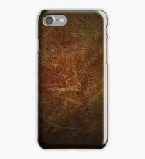 Vintage leather iPhone Case/Skin