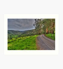 Barramunga Landscape Art Print