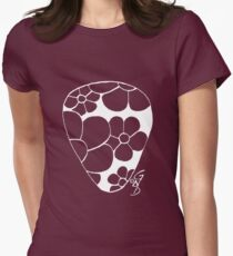 Plectrum 2 inverted see through Womens Fitted T-Shirt