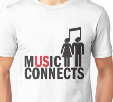 Music Connects Unisex T-Shirt