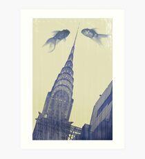 crysler gold fish Art Print