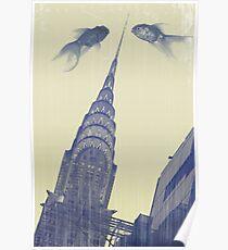 crysler gold fish Poster