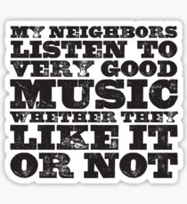 Very Good Music Sticker