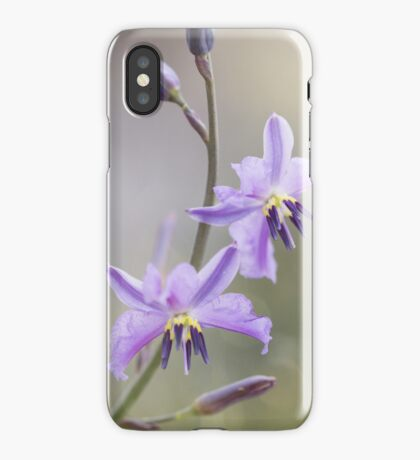 Chocolate Lily iPhone Case