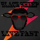 Black Sheep Live Fast by ThePencilClub