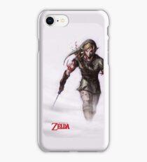 Zelda in the Mist White iPhone Case iPhone Case/Skin