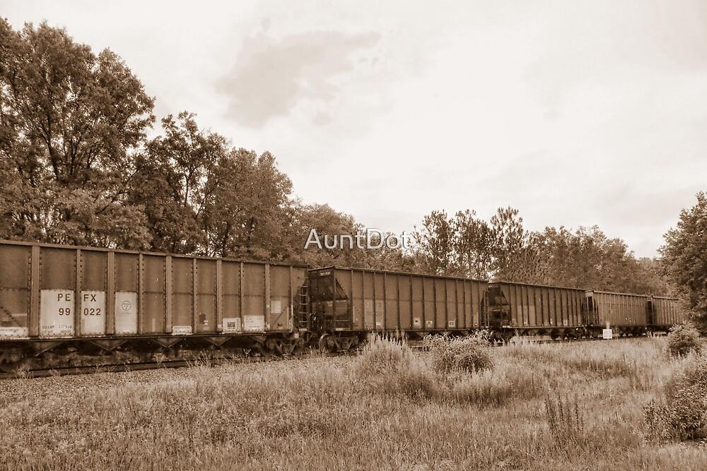 Coal Train by AuntDot