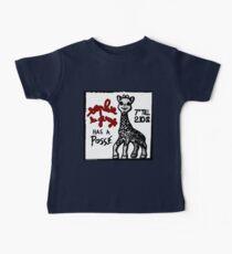 Sophie la Girafe Has A Posse Giraffe Retro Baby Tee