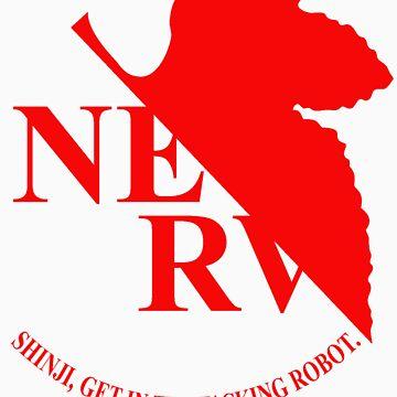 Evangelion NERV Tee by CrimsonRogue