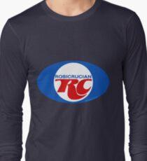 Rosicrucian RC Royal Crown Cola Logo Retro Vintage Long Sleeve T-Shirt