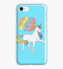 Haters gonna Hate Blue iPhone Case/Skin