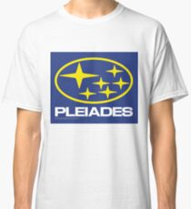 Pleiades Mythology Esoteric Mystery School Subaru Auto Logo Classic T-Shirt