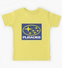 Pleiades Mythology Esoteric Mystery School Subaru Auto Logo Kids Tee