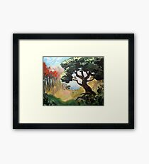Bubo's Tree Framed Print